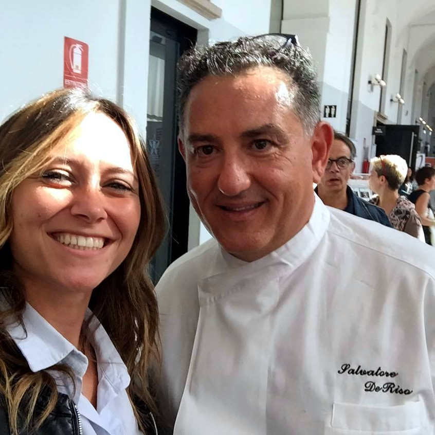 with the Pastry Chef S. de Riso