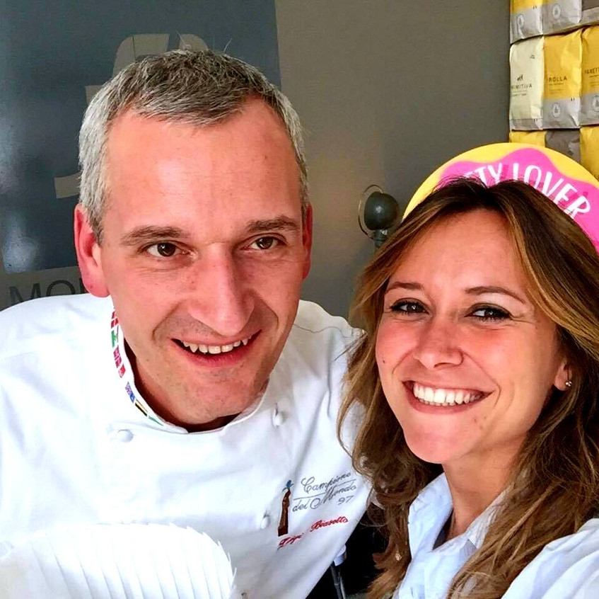 with the Pastry Chef L. Biasetto