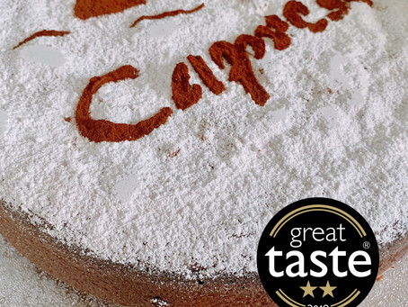When your Caprese cake reaches the stars...
