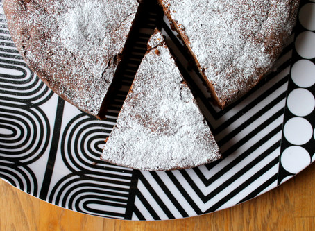 My baking demo & tasting: enjoy Capri and its traditional cake!!