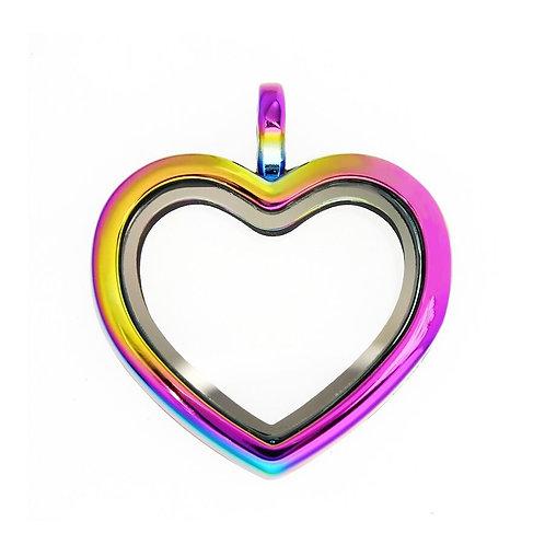 Memory Locket Rainbow
