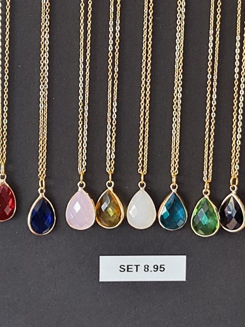 Set, Earrings & Necklace
