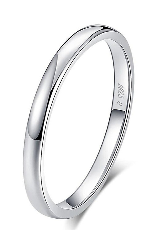 Simply Round Silver