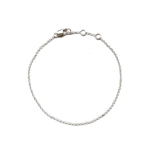 925 Silver simple bracelet