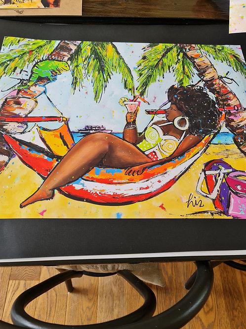 Framed Caribbean Posters
