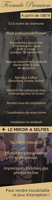 formule premium animation mariage lorraine