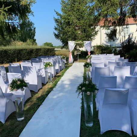 Le superbe mariage de Marie et Jordan aux Tuileries