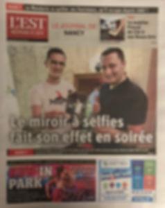 Article Est républicain miroir à selfies