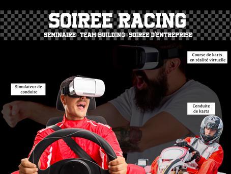Soirée Racing : concept clé en main
