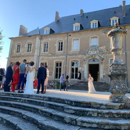 Le mariage de Gwendoline et Gaétan au Château de Saulxures