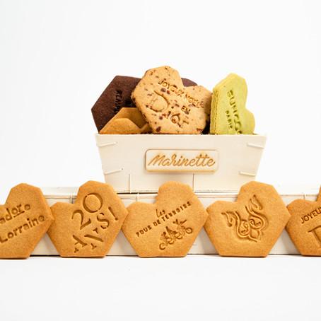 Les Biscuits Bavards personnalisés de Marinette !