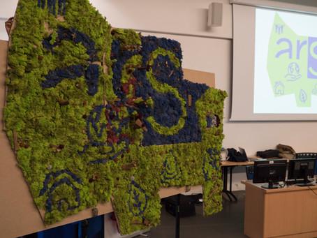 """Animation événementielle """"Tableau végétal"""" : plus vert que nature !"""