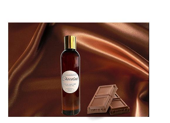 Chocolate Massage and Body Oil -Chocolat Huile