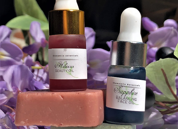 Clear skin - Skin care kit- Facial Oil and Clay Soap