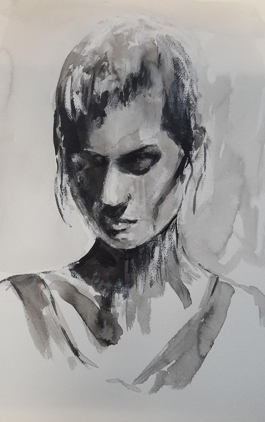 Un beau dessin par Brigitte V