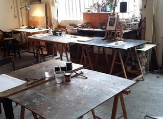 Les séances de cours à l'atelier