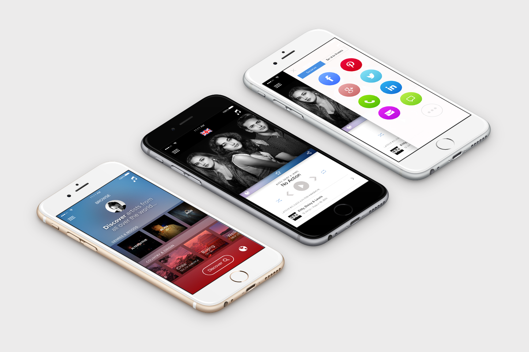 Viva Music App Mobile Project