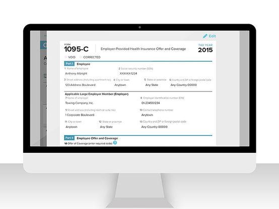Form 1095C ADP® Health Compliance