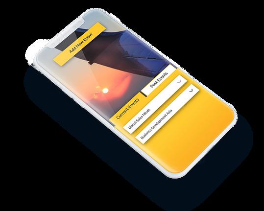 Business Traveler Mobile App concept