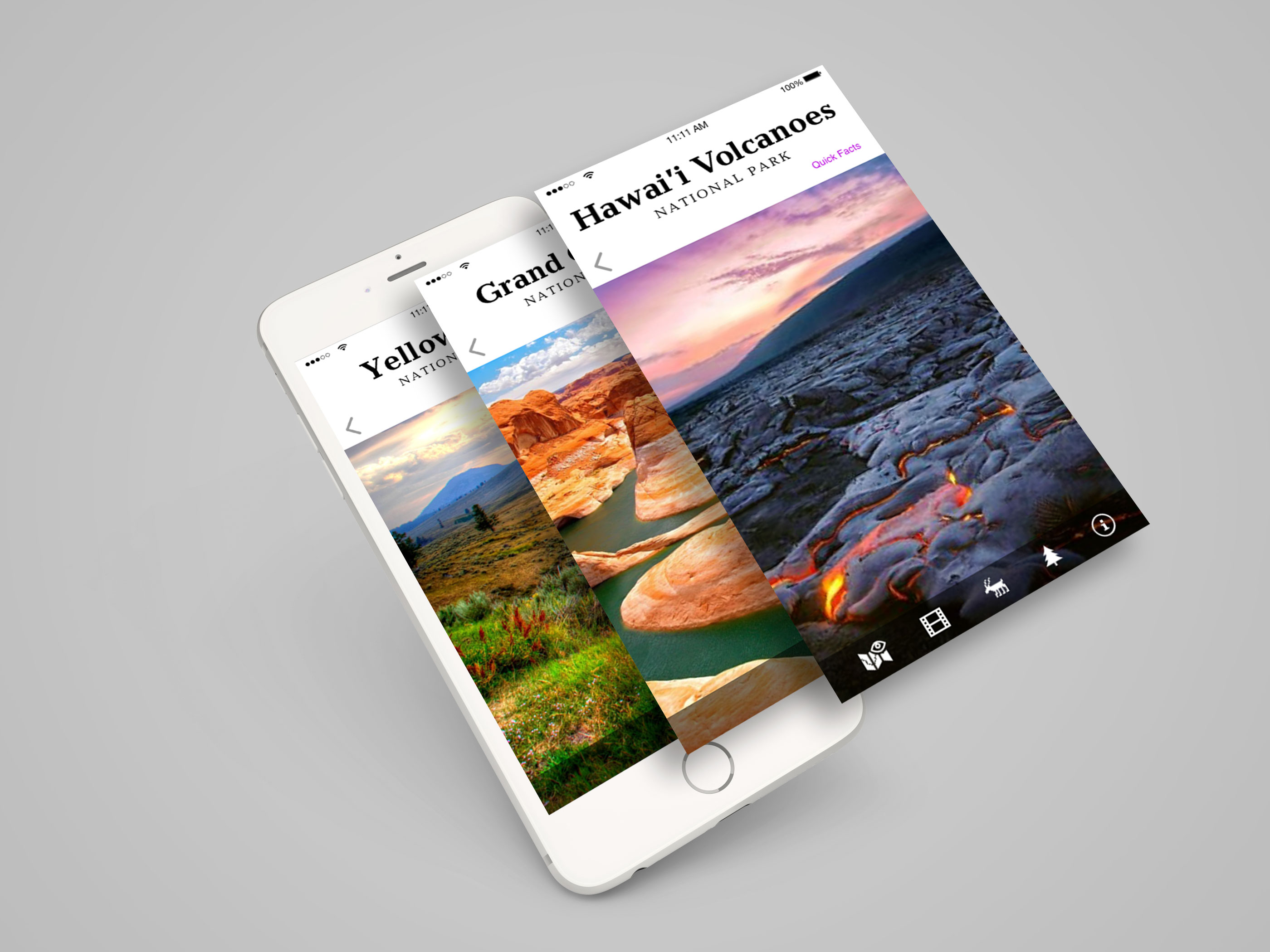 National Parks mobile concept