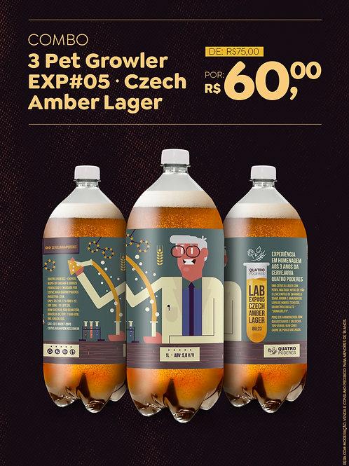 EXP#05 Czech Amber Lager (3L no Pet Growler)