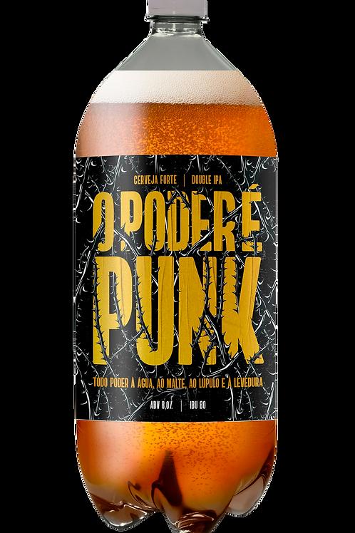O Poder É Punk - Pet Growler  - 1 L