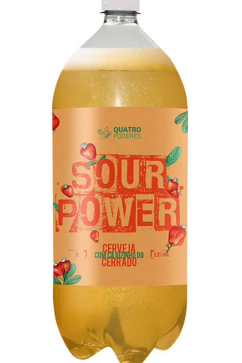 Sour Power Cajuzinho do Cerrado - Pet Growler 1L