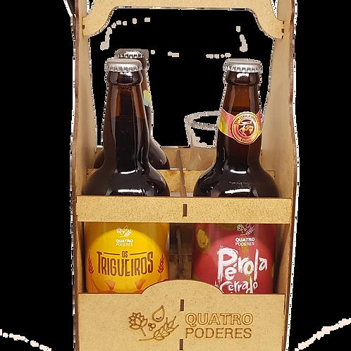 Kit 6 - 4 Cervejas à sua escolha