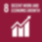 SDG 8 - Decent work and economic growth.