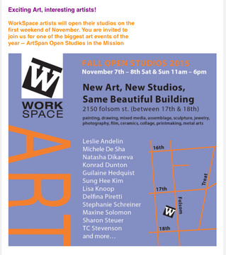 My Open Studio Coming Up In A Few Days