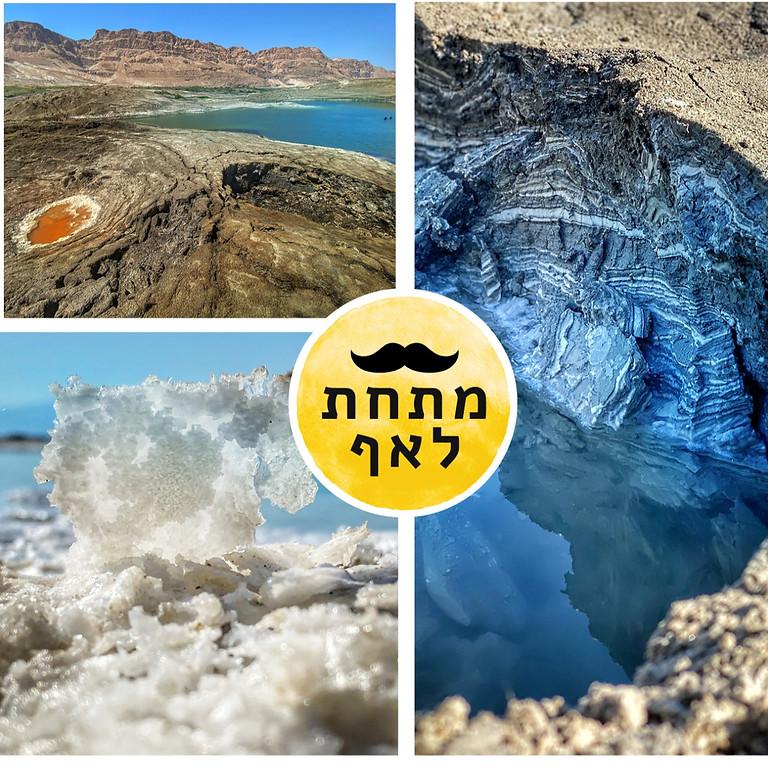 סדנת צילום בנייד ב׳ארץ הבולענים׳ ים המלח