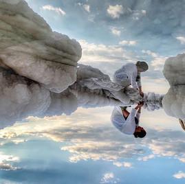 צולם בנייד- נתלי תמיר בסדנת צילום שהנחתי בים המלח