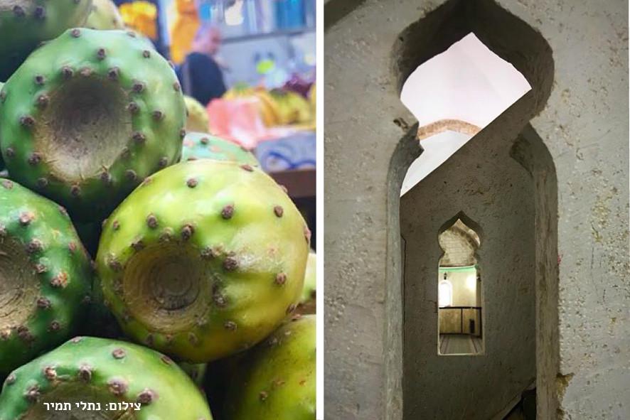 המסגד הגדול ובשוק של רמלה