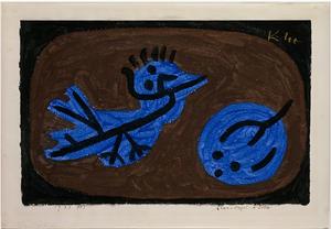 paul klee drawing blue bird