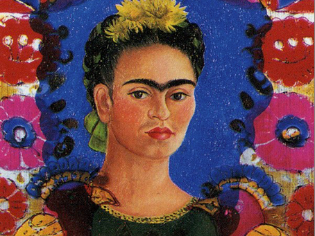 Frida Kahlo loved her birds…