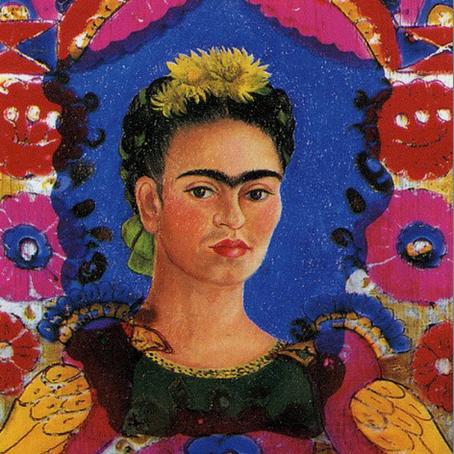 Frida Kahlo loved her birds…