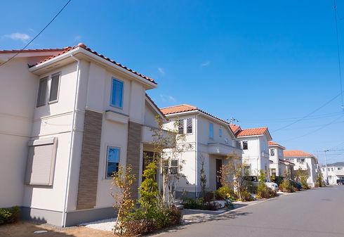 Japanese residential area Image Februar