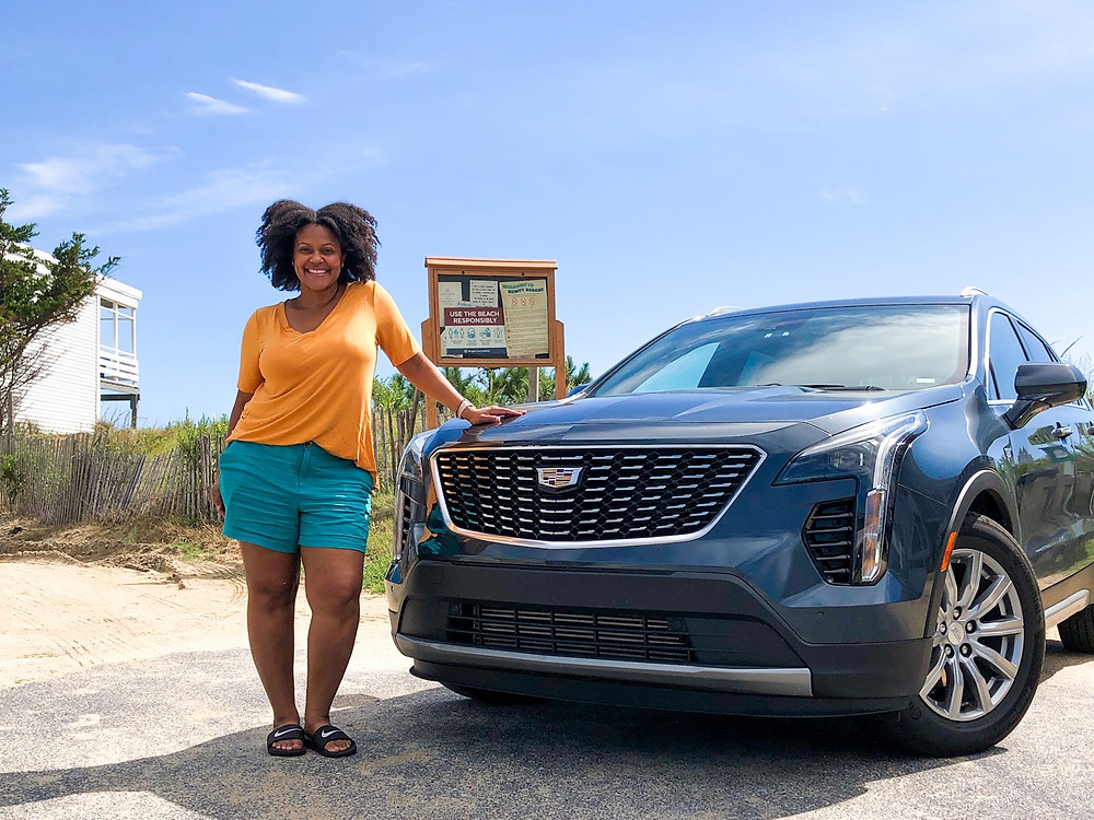 Roadtripping in style with our Cadillac SUV