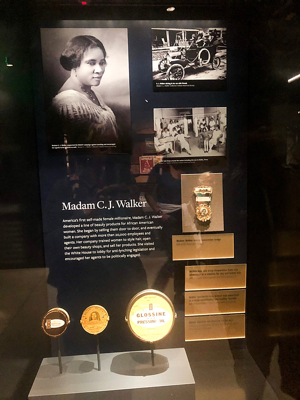 Madame C.J. Walker the first self-made women millionaire