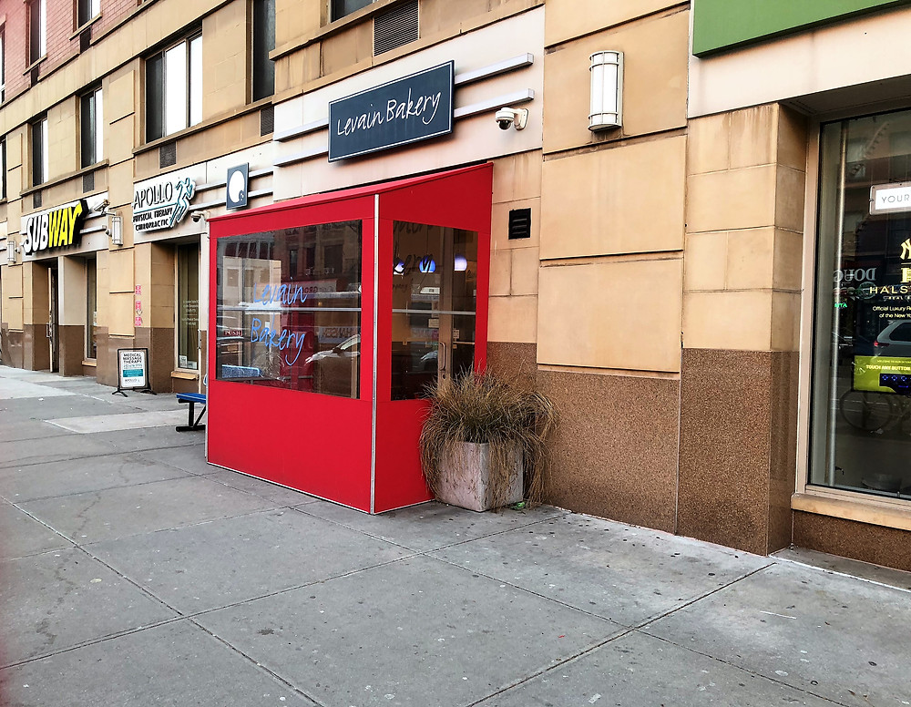 """Levain Bakery on the """"sexy"""" block in Harlem"""