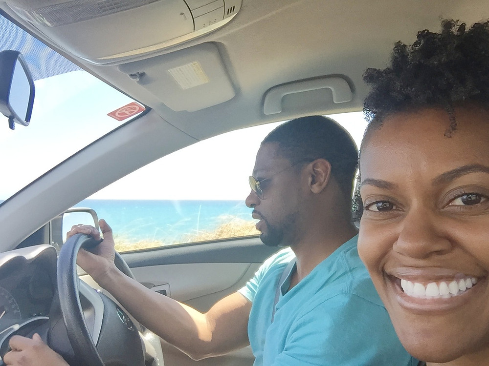 Our first vacation together - a road trip in Jamaica