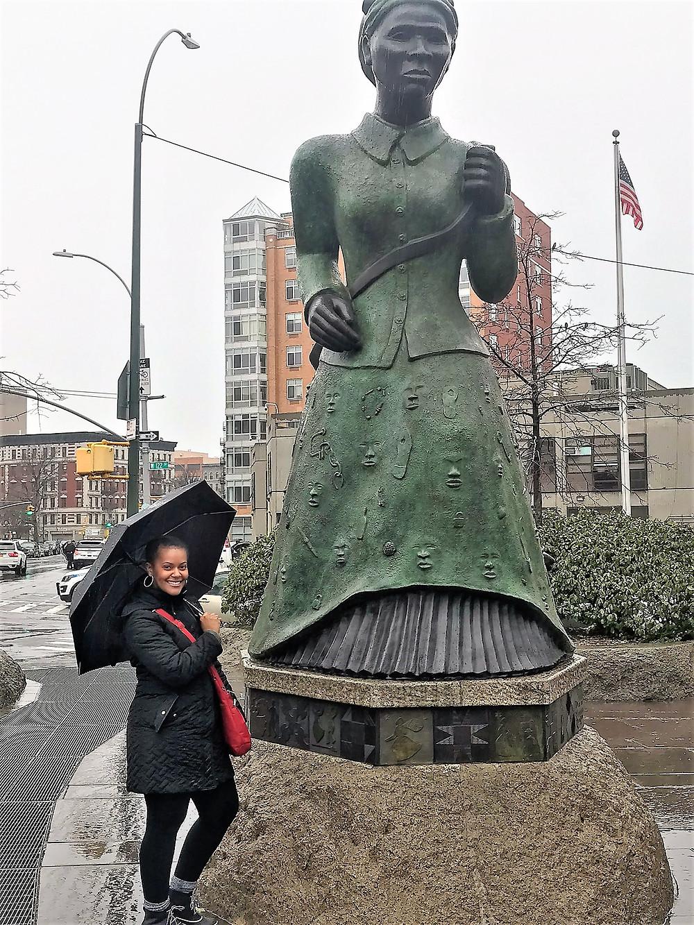 Harriet Tubman interactive statue