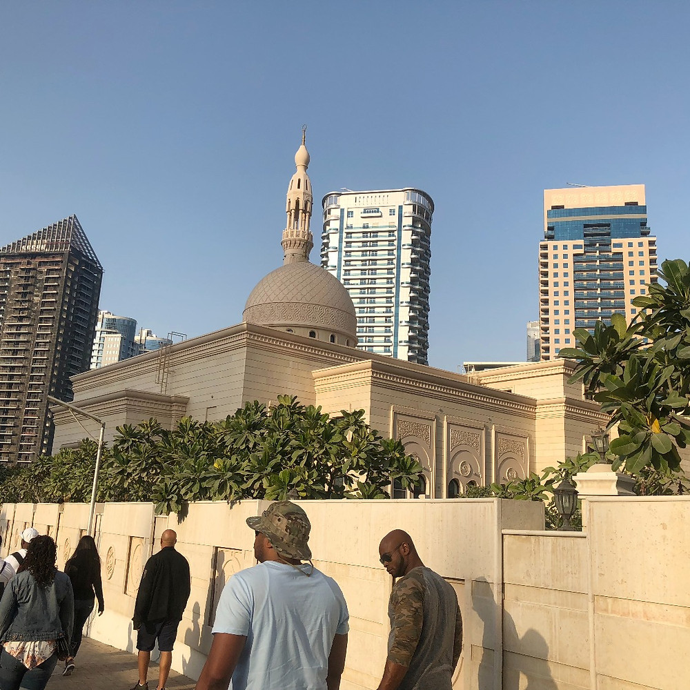One of the many beautiful mosques
