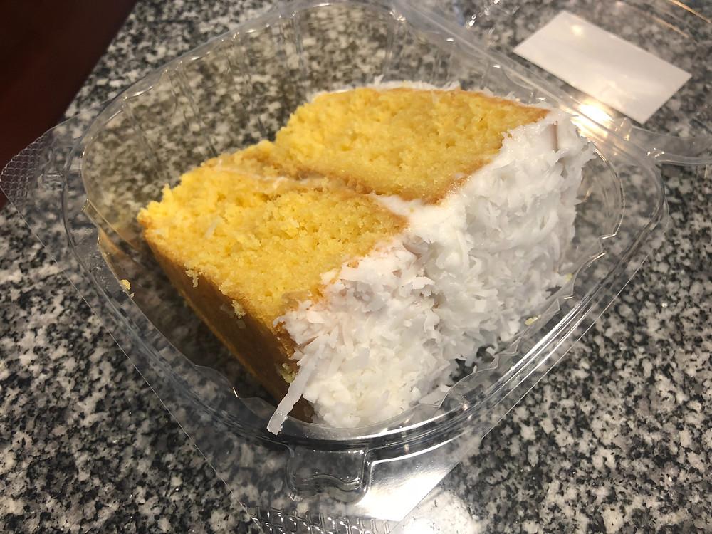 Coconut cake from Little Ochie
