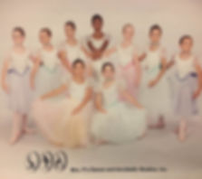 My ballet recital picture at around age 12. Guess which one is me, lol.