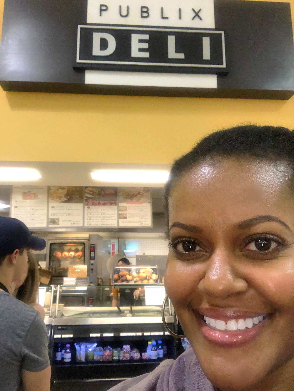 Pit stop at the Publix deli for a sub