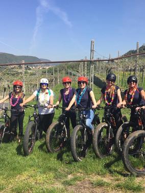 Bike ladies from Sweden