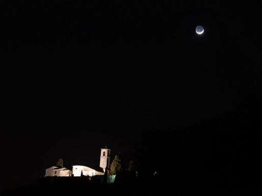 27.07.2018 FULL MOON NIGHT TREKKING IN THE VINEYARDS IN TENUTA SANTA MARIA VELVERDE
