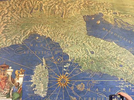 Le mappe del Vaticano