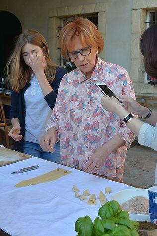 Laura Campagnola Italian cuisine class
